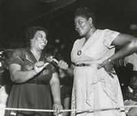 Big Mama Thornton and friend