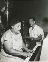 Dolly Adams and Placide Adams