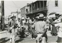 Jolly Bunch second line and marchers