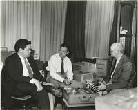 Richard Allen With Raymond Burke and William Russell