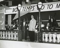 Band at the Bon Temps Carnival Ball