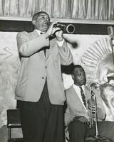 Willie Humphrey and Thomas Jefferson at the Mardi Gras Lounge