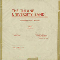 Tulane University Band, 1960
