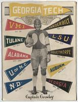 Georgia Tech Football Program; Tulane vs. Georgia Tech