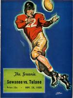 Tulane University Football Program; Sewanee vs. Tulane