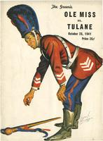 Tulane University Football Program; Ole Miss vs. Tulane