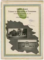 Tulane University Football Program;   Tulane vs. University of Tennessee