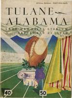 Tulane University Football Program; Tulane vs. Alabama
