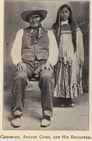 Geronimo, Apache chief, and his daughter