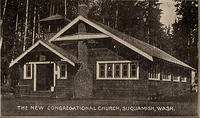 The New Congregational Church, Suquamish, Wash.