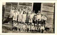 Bible School at Spies, North Carolina