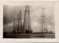 Oil field near Houston, Texas