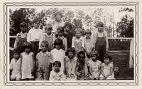 Dorothy Grigsby & her primary class
