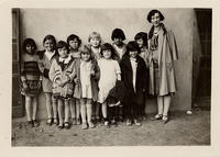 Boley Girls with YWCA Director, Ms. Bernard R.G.S. 1929-1930