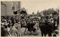 Dedication of German Congregational Church