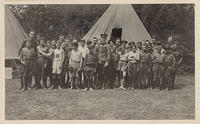 Asheville Boy Scouts in Camp