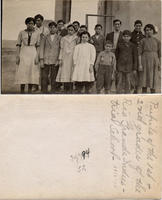Rio Grande Industrial School's first and second pupils