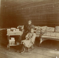 Joanna Annathana Jones Russell in the Attic Dormitory
