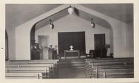 Church Interior, Klamath Falls