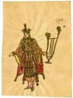 Mistick Krewe of Comus 1914 Costume 102