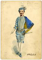 Krewe of Proteus 1900 costume 108-113