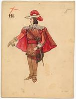 Mistick Krewe of Comus 1908 costume 115