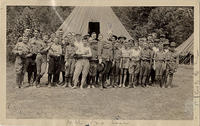 Asheville Scouts in Camp