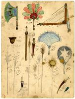 Krewe of Proteus 1905 accessory design 27