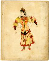 Mistick Krewe of Comus 1894 costume 90