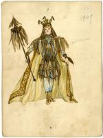 Mistick Krewe of Comus 1909 costume 102