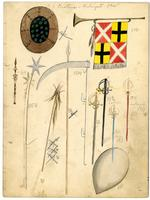 Krewe of Proteus 1905 accessory design 10