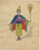 Mistick Krewe of Comus 1928 costume 78