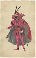 Mistick Krewe of Comus 1930 costume 114