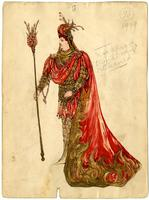 Mistick Krewe of Comus 1909 costume 96