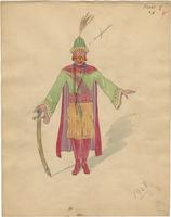 Mistick Krewe of Comus 1928 costume 18