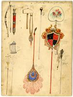 Krewe of Proteus 1905 accessory design 16