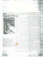 Article:  Giant's Wings