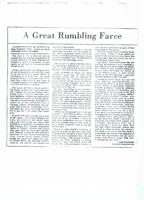 Article: A Great Rumbling Farce