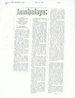 Article: Jambalaya