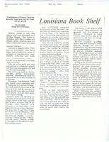 Article: Louisiana Book Shelf