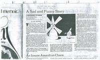 Article: A Sad and Funny Story