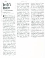 Article: Toole's Trade