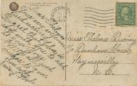Postcard from Mrs. J. Toole to Thelma