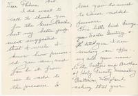 Letter and envelope from Sister Dorothy Larusse