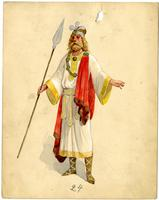Krewe of Proteus 1909 costume 24