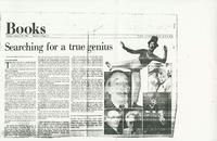 Article:  Searching for a True Genius