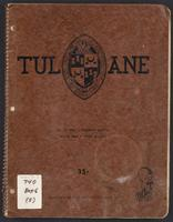 Tulane University notebook