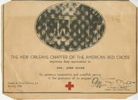 American Red Cross certificate