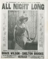 Sheet Music Cover: All Night Long