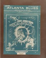 Sheet Music Cover: Atlanta Blues (Make Me One Pallet on Your Floor)